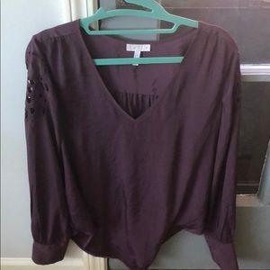 Leith Long sleeve blouse small